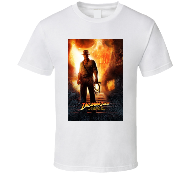 Indiana Jones And The Kingdom Of The Crystal Skull T Shirt