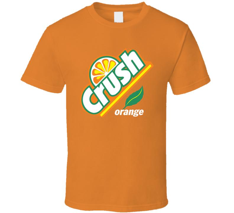 Orange Crush Soft Drink Pop Orange T Shirt