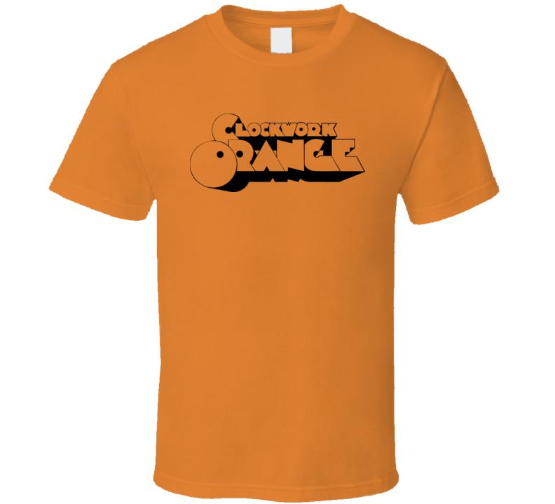 Clockwork Orange Movie Retro 80S T Shirt
