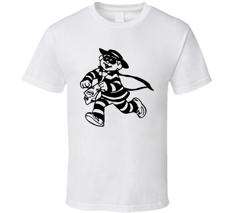 The Hamburglar McDonalds Character T Shirt