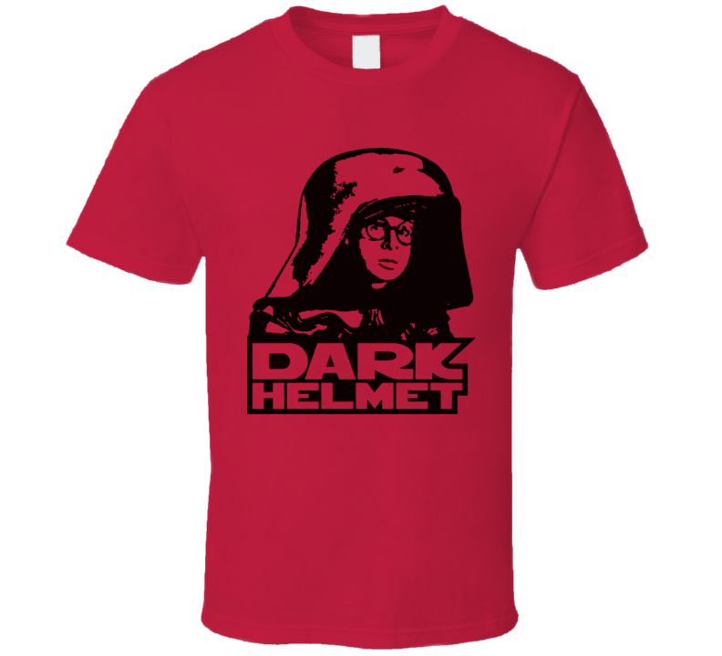 Space Balls Mel Brooks Dark Helmet Man Funny T Shirt