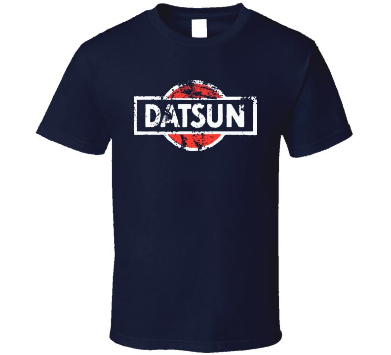 Datsun Car Company Nissan Brand T Shirt