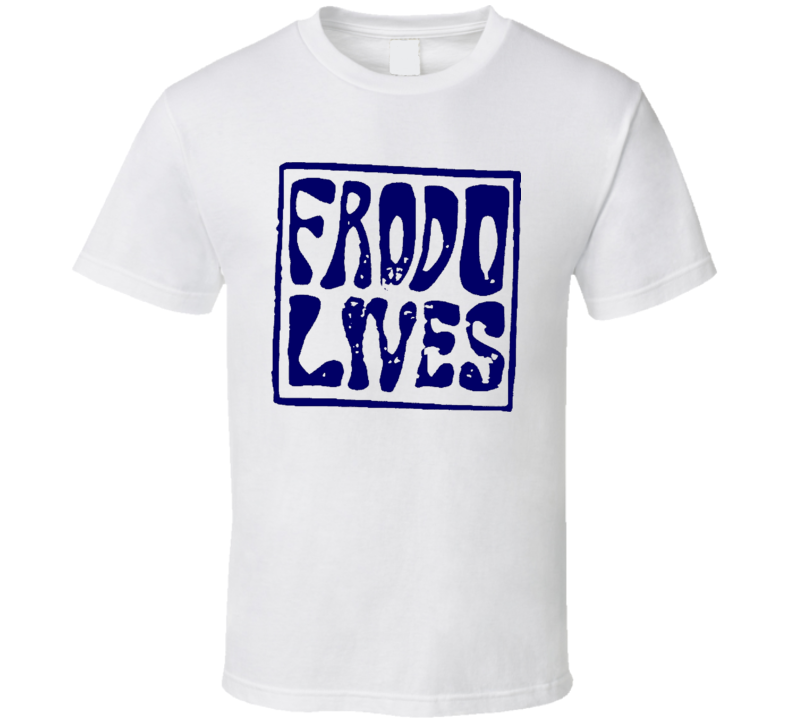 Frodo Lives Retro 80S Cool T Shirt