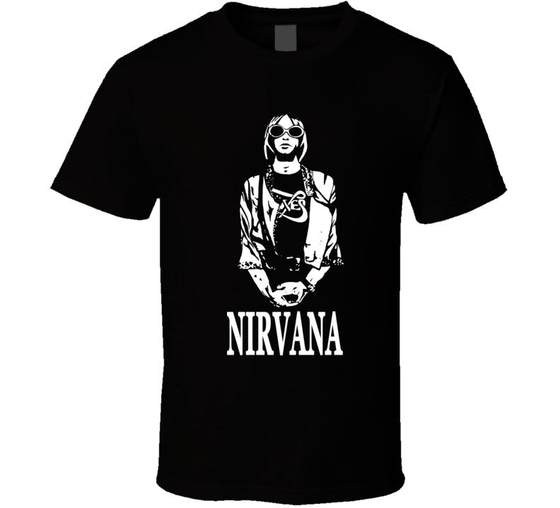 Kurt Cobain Nirvana Music Grunge Punk T Shirt