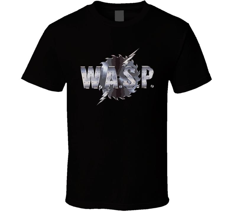 Wasp Heavy Metal Rock Music 80S T Shirt