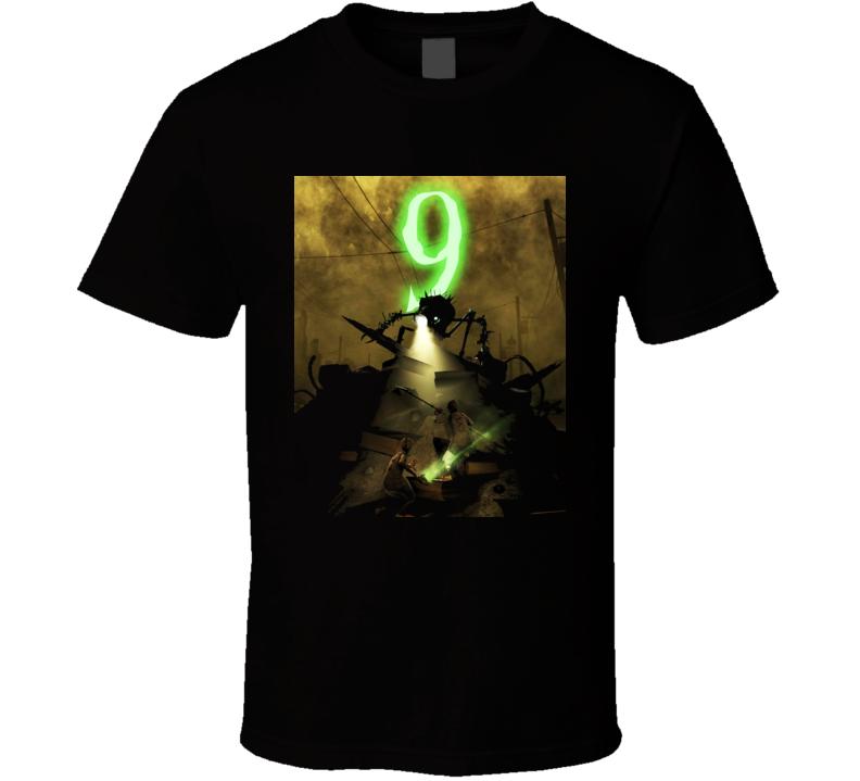 Tim Burton Movie Animated Nine 9 T Shirt