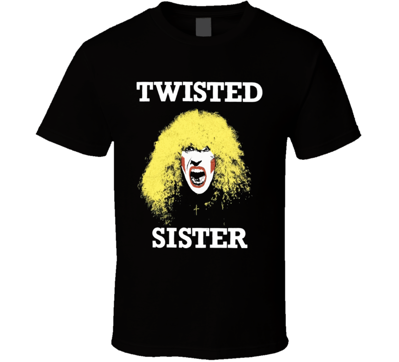 Twisted Sister Rock Retro Music T Shirt