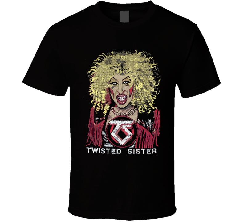 Twisted Sister Rock Retro Music T Shirt