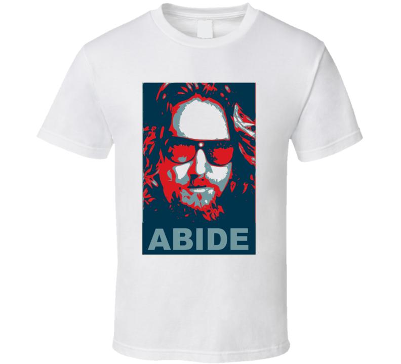 The Big Lebowski Bowling Movie Abide T Shirt