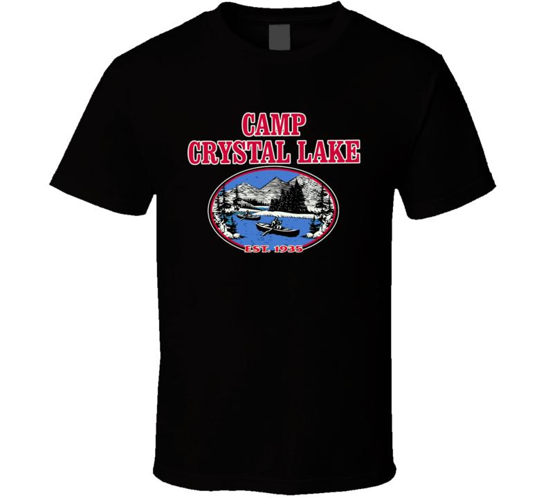 Friday The 13Th Camp Crystal Lake Black T Shirt