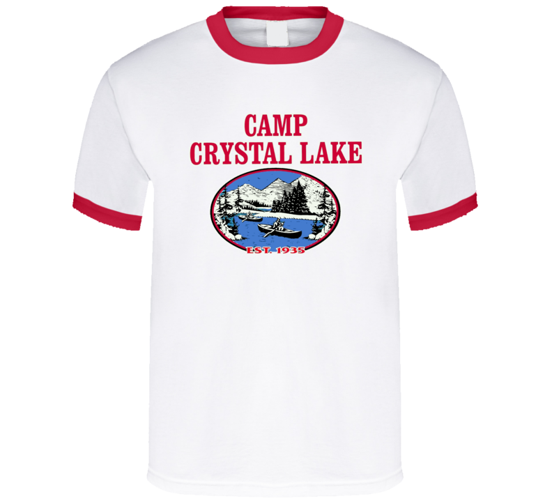 Friday The 13Th Camp Crystal Lake Black T Shirt