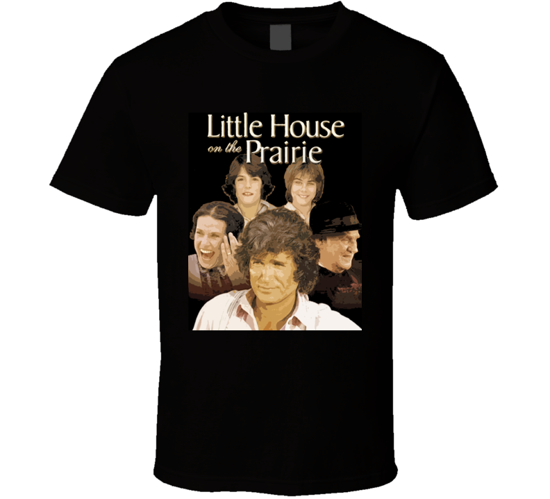 Little House On The Prairie Classic Retro T Shirt
