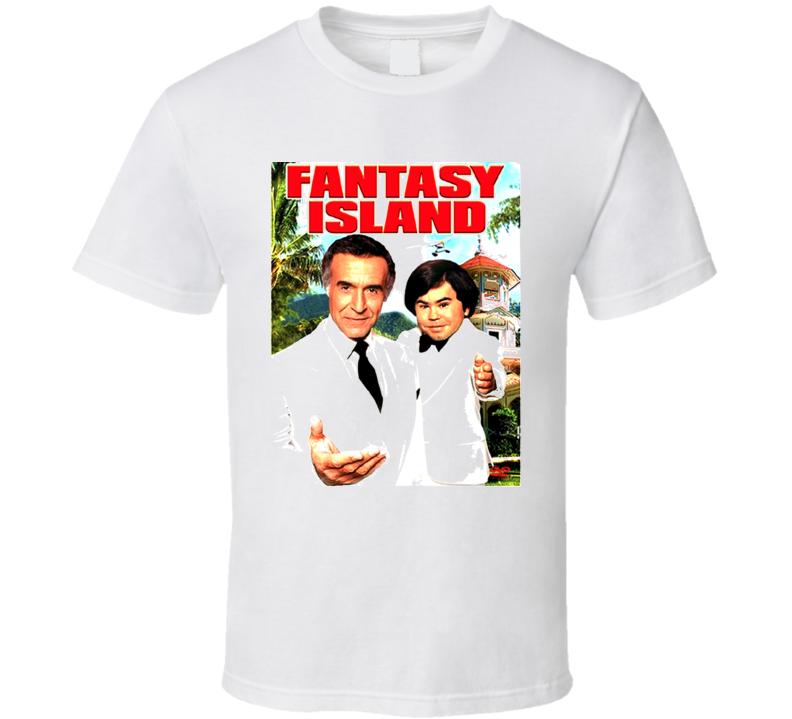 Fantasy Island Retro 70S Tv Show T Shirt