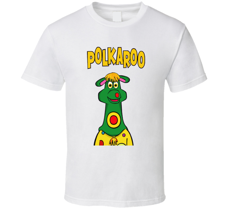 Polkaroo Polka Dot Door Tv Kids Show T Shirt