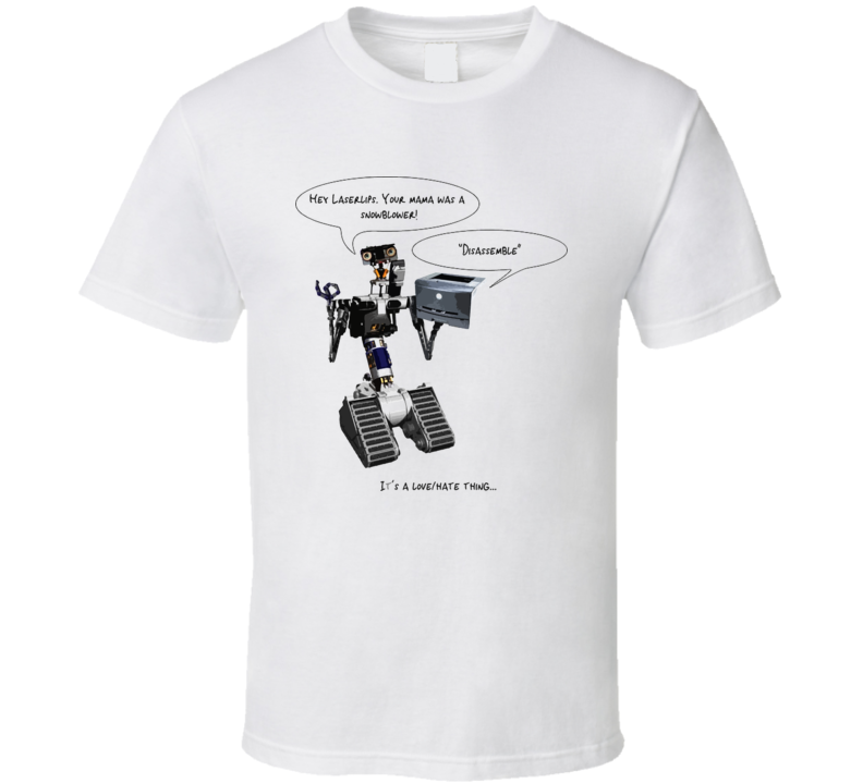 Johnny Five Robot Short Circuit T Shirt