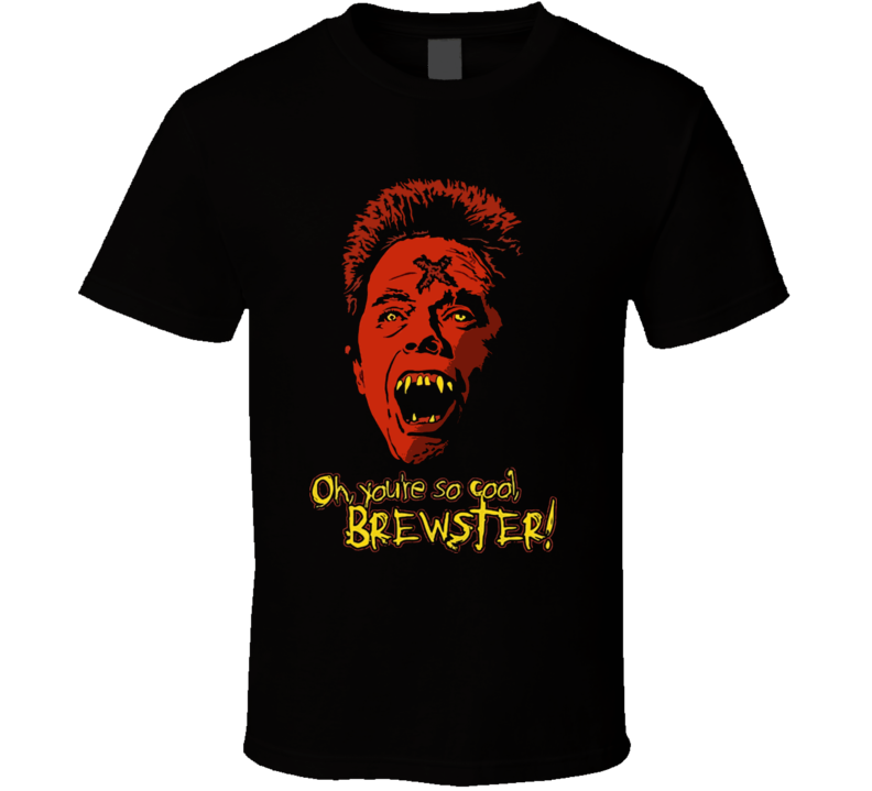 Fright Night You're So Cool Brewster Black T Shirt
