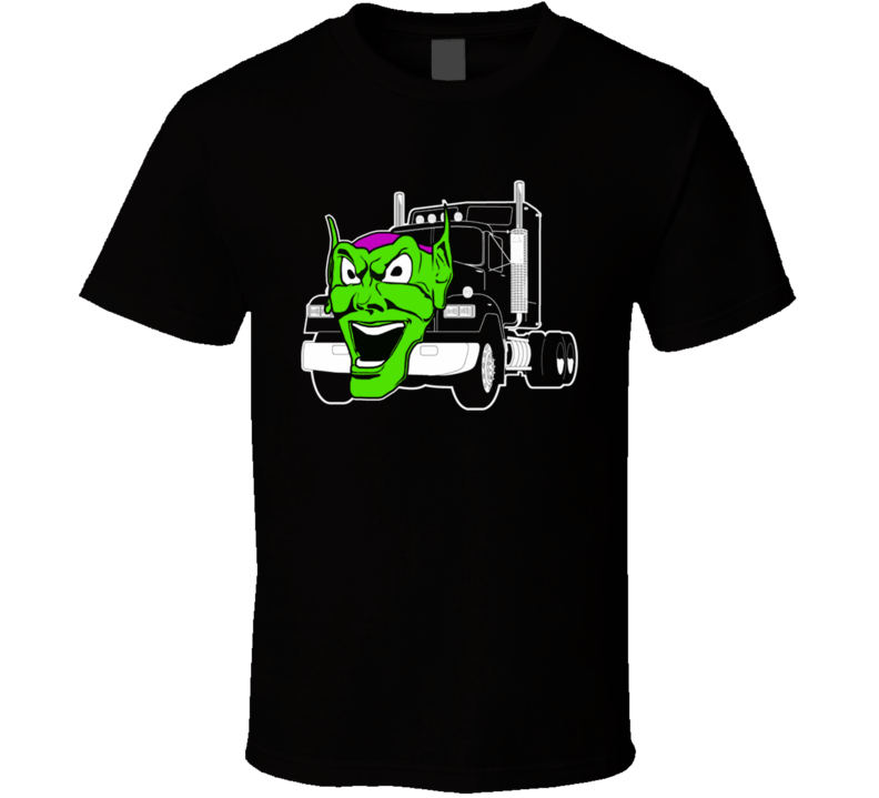 Maximum Overdrive Truck Movie Black T Shirt