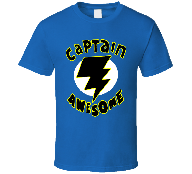 08df4015 Captain Awesome Funny T Shirt