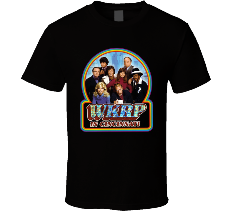 Wkrp In Cincinnati Tv Show Funny T Shirt