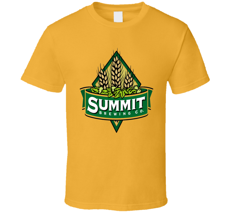 Summit Brewing Beer Alcohol Drinking T Shirt