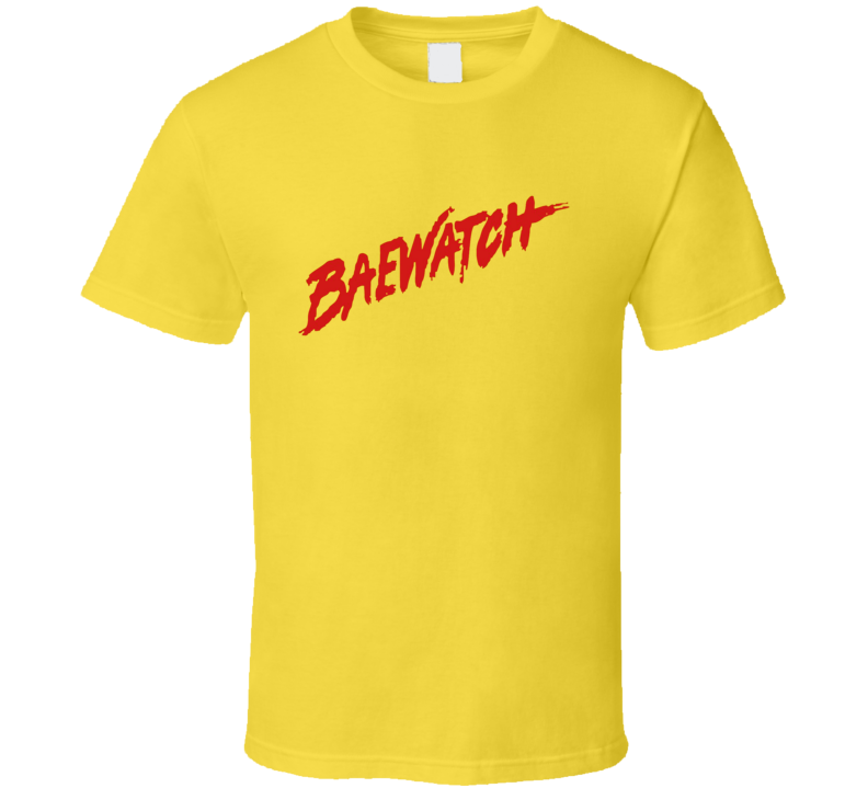 Baewatch Movie TV Show Parody Funny Baywatch T Shirt