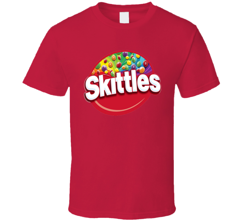Skittles Candy Junk Food Snack Rainbow T Shirt
