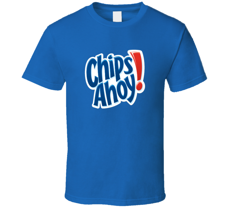Chips Ahoy Cookies Chocolate Chip Snack Junk Food T Shirt