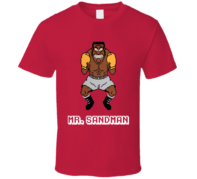 Mr Sandman Mike Tyson's Punch Out NES Video Game 80s T Shirt