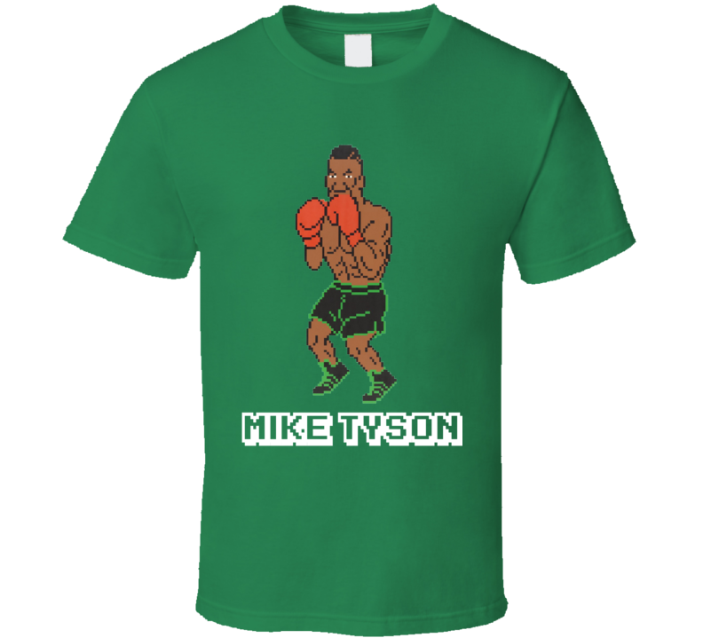 Mike Tyson's Punch Out Mike Tyson NES Video Game 80s T Shirt