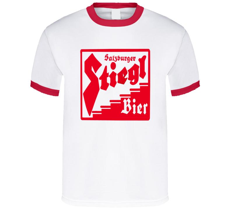 Stiegl Bier Beer Salzburger German Alcohol Drink T Shirt