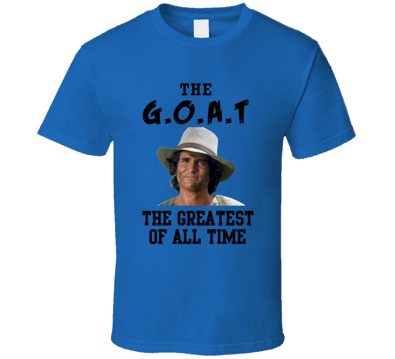 Charles Ingalls The Greatest Of All Time Goat Little House Prairie Tv Show T Shirt