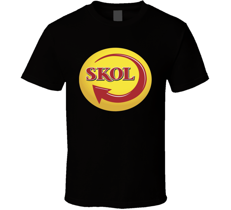 Skol Beer Alcohol Drink Party T Shirt