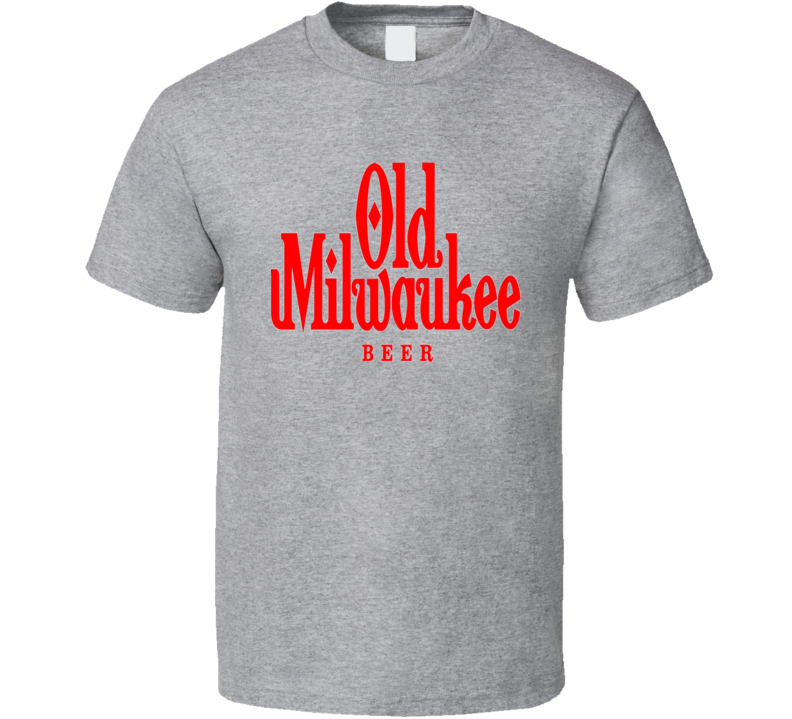 Old Milwaukee Beer Drink Alcohol T Shirt