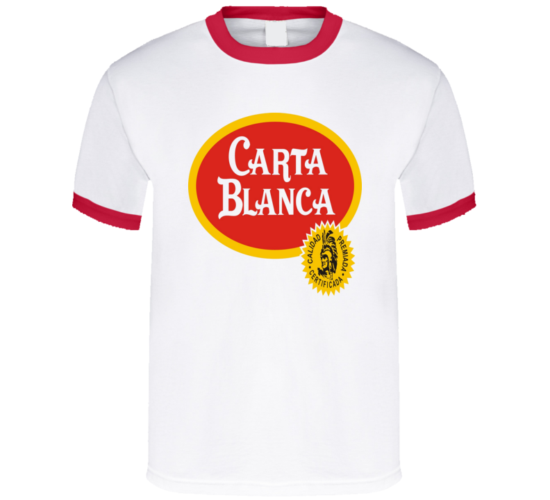 Carta Blanca Beer Drink Alcohol T Shirt