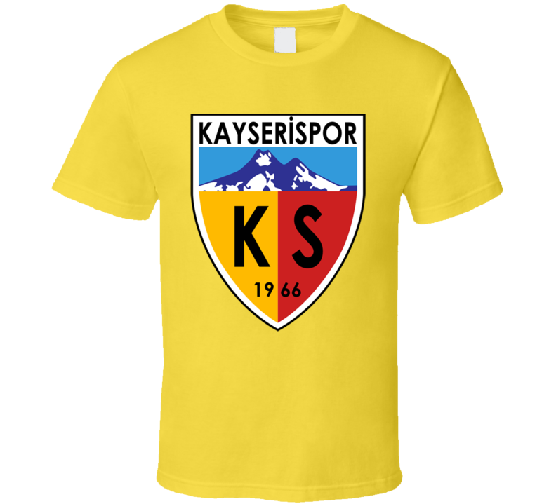 7401f6f3 Kayserispor Turkish Soccer Team Football Club Super Lig Turkey T Shirt