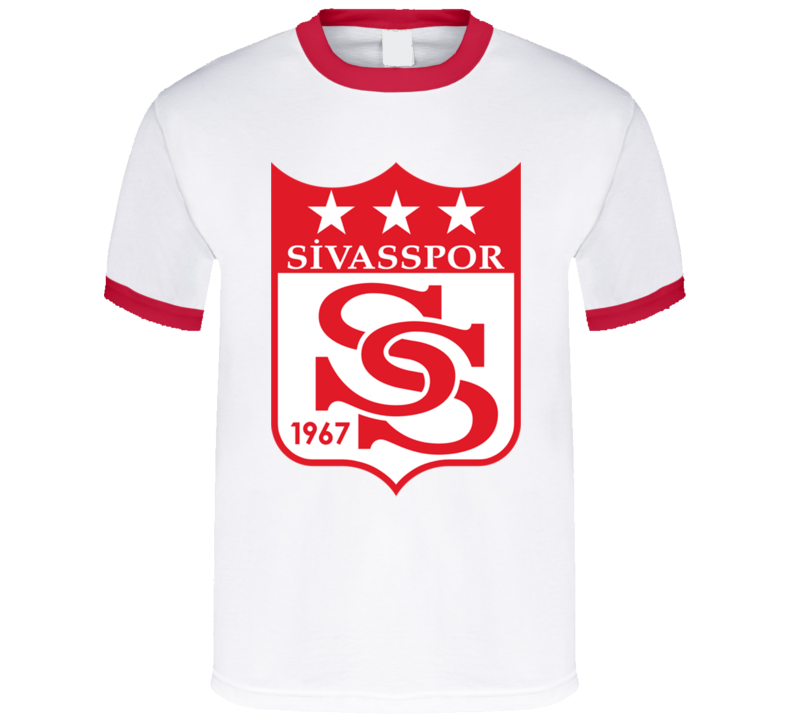 b8af3b1e Sivasspor Turkish Soccer Team Football Club Super Lig Turkey T Shirt