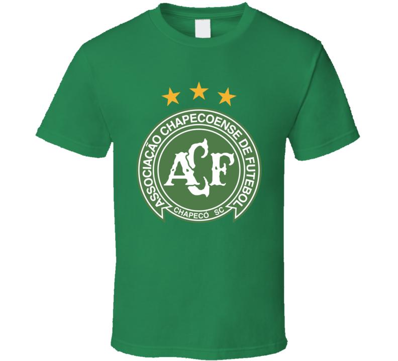 Associacao Chapecoense De Futebol Campeonato Brasileiro Soccer Team Football Club T Shirt