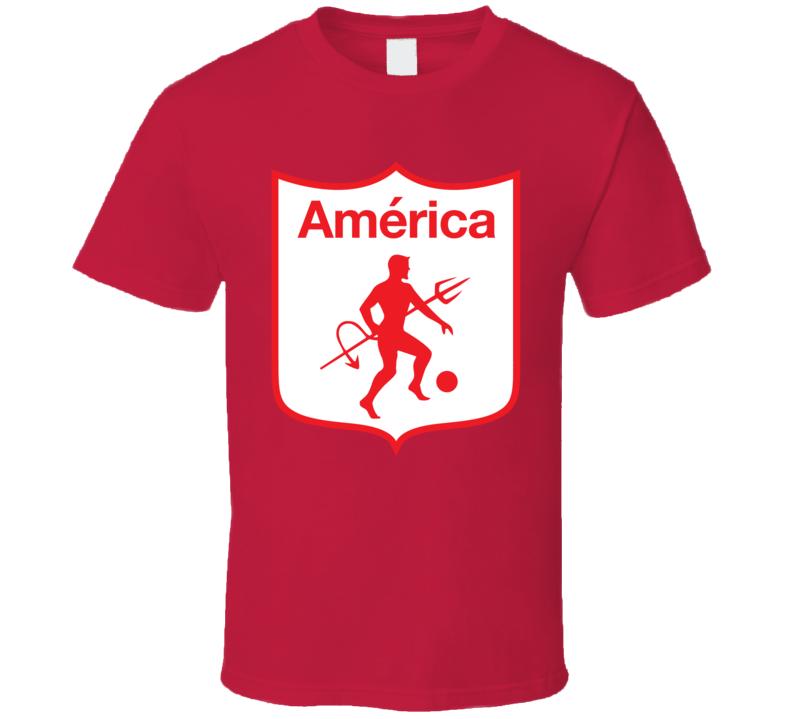 America De Cali Colombian Soccer Team Football Club T Shirt