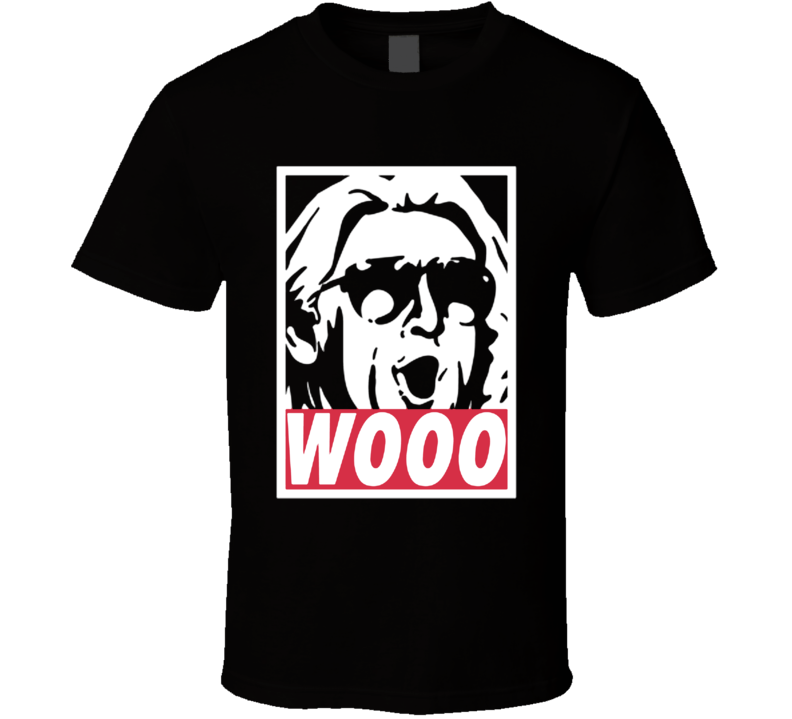 Ric Flair Wooooo Wrestling Legend Nature Boy T Shirt