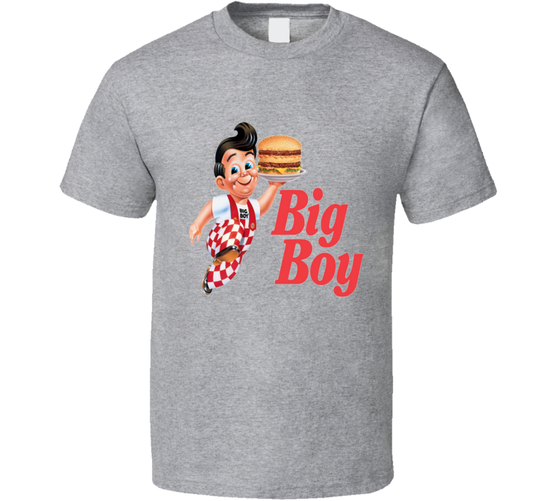 Big Boy Burgers Restaurant Chain Food T Shirt