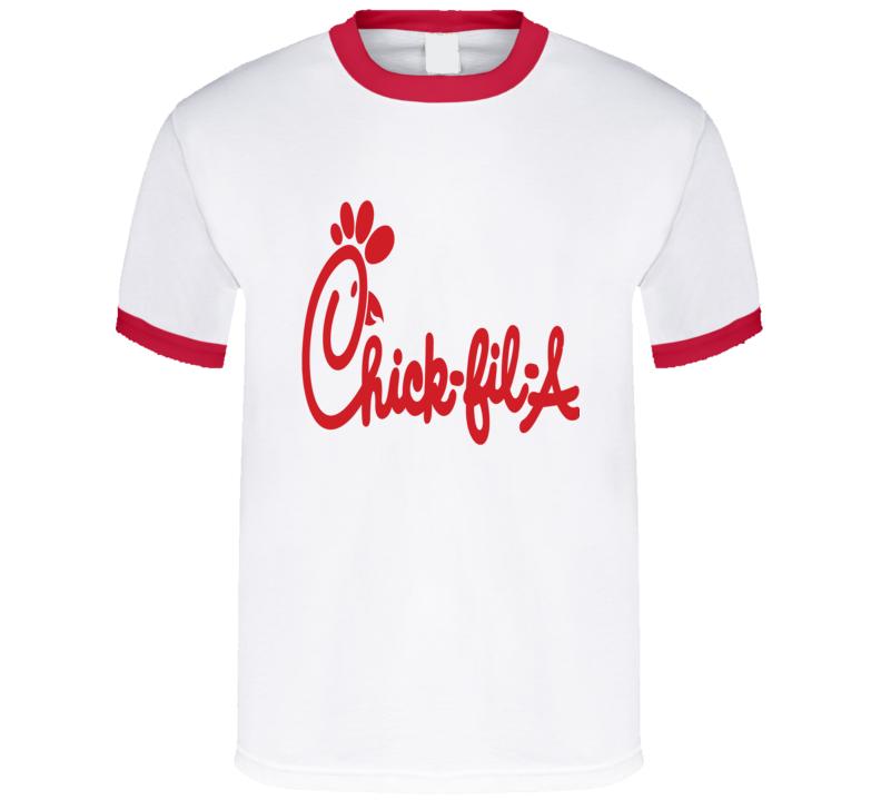 Chick-fil-a Fast Food Restaurant Chain T Shirt