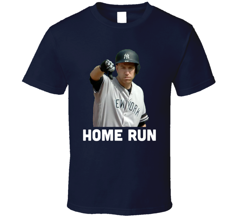 Todd Frazier New York Baseball Home Run Thumbs Down T Shirt