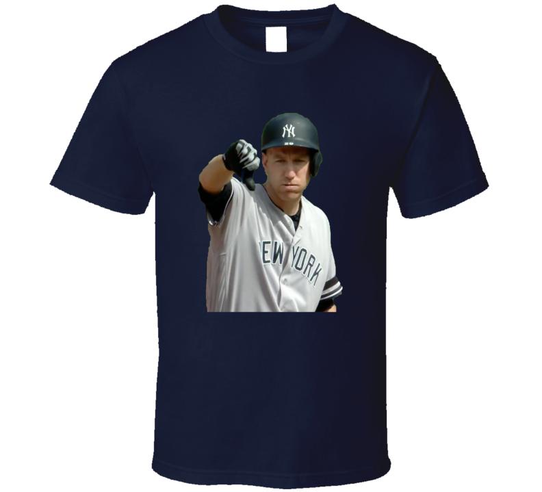 Todd Frazier New York Baseball Home Run Thumbs Down Cool T Shirt