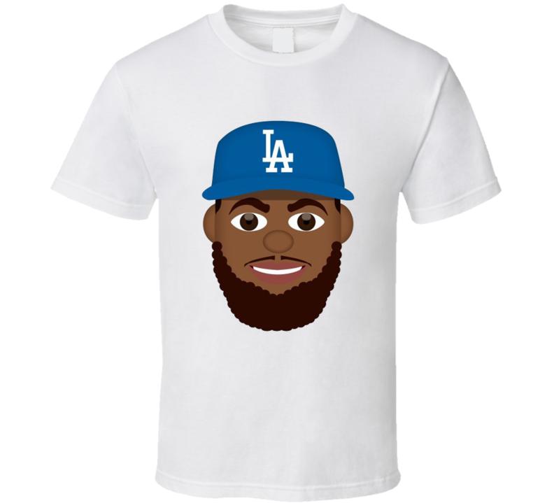 Kenley Jansen Graphic Emoji Funny Los Angeles Baseball T Shirt