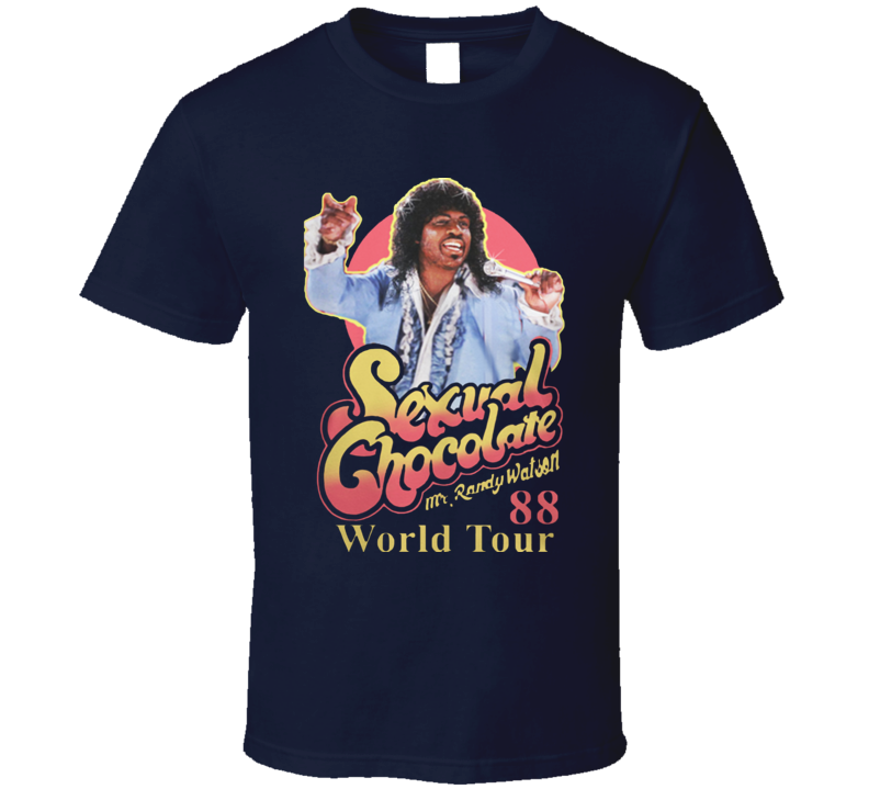 Sexual Chocolate 88' World Tour Randy Watson Eddie Murphy Movie T Shirt