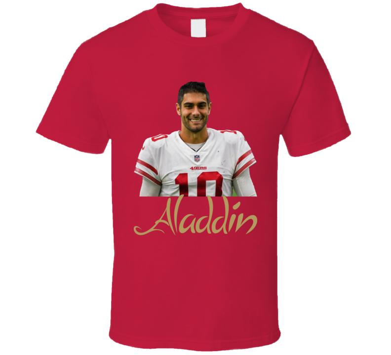 Jimmy Garoppolo Football Quarterback San Francisco Aladdin T Shirt