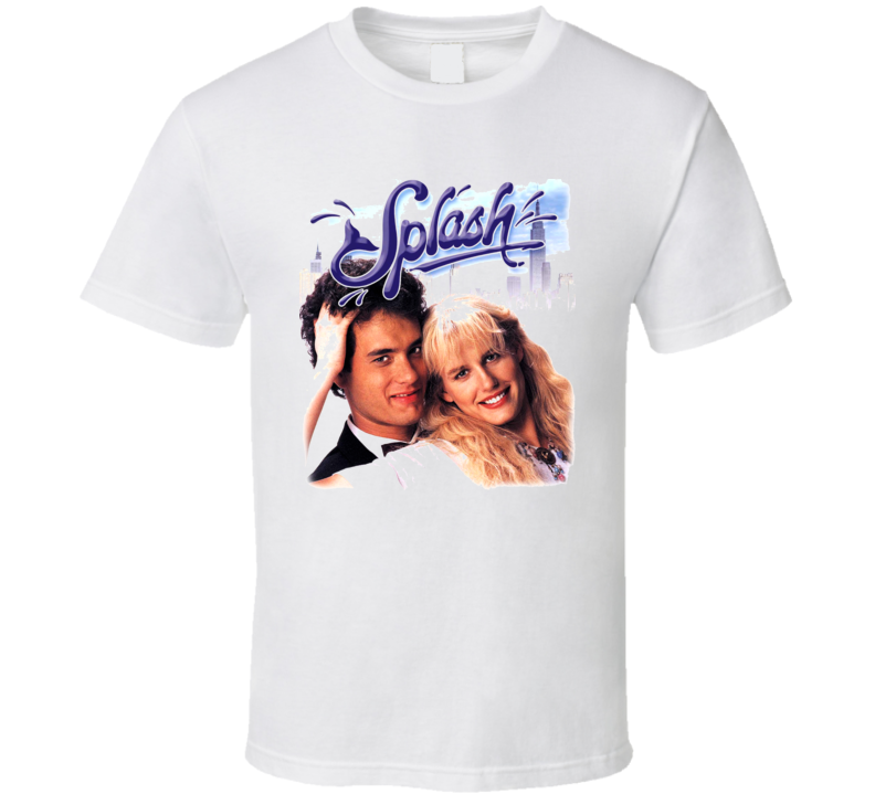 Splash Movie Tom Hanks 80S T Shirt