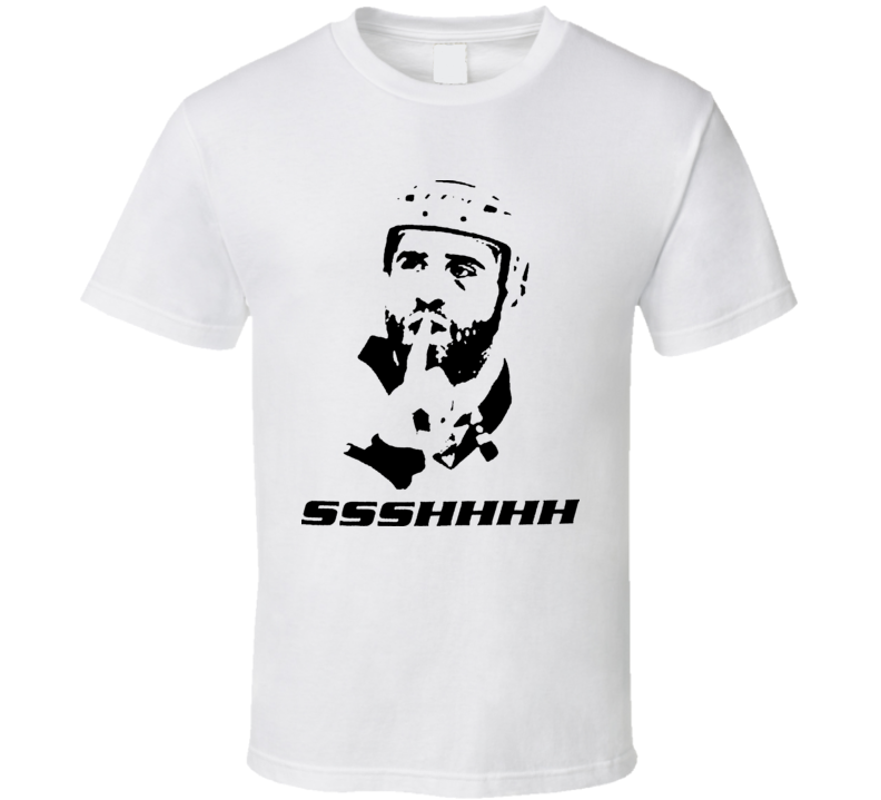 Max Talbot Shhh Hockey Playoffs Fighting T Shirt