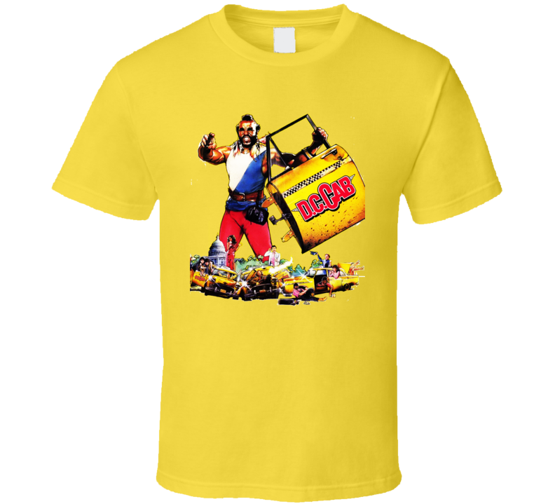 Dc Cab Movie 80S Mr T Shirt