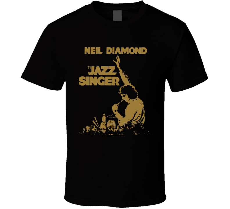 The Jazz Singer Neil Diamond Movie T Shirt